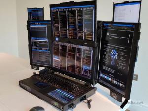 Невероятный 7-экранный ноутбук! Знакомьтесь!