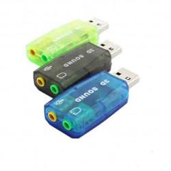 ВНЕШНЯЯ ЗВУКОВАЯ КАРТА USB 5,1