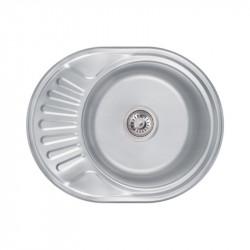 Кухонная мойка Lidz 6044 Decor 0,6 мм (LIDZ604406DEC)