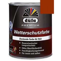 Акриловая эмаль коричневая 0,75л Dufa Wetterschutzfarbe, Германия