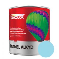 Эмаль ПФ-115 Polycolor 0,9кг светло-голубая