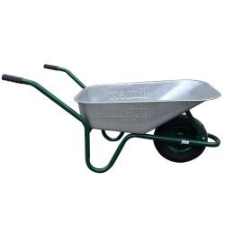 Строительная тачка Limex STD-85 зеленая (Хорватия)