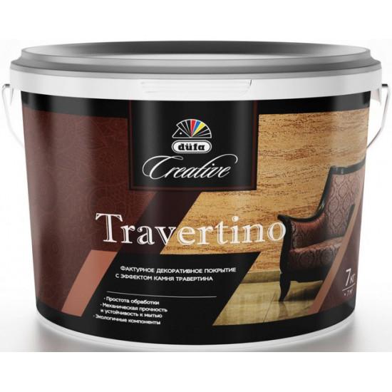 Декоративное покрытие düfa Travertino 15кг