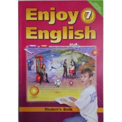 Учебник Английский язык 7 класс (Enjoy English)