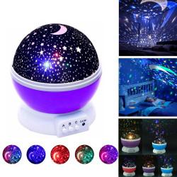 Ночник-проектор Star Master Звездное небо с функцией вращения