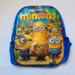 Детский рюкзак МИньон 3Д рисунок