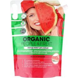 Organic People Кондиционер-ополаскиватель для белья ЭКО с органическим арбузом, дой-пак 2л